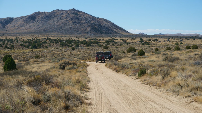 Mojave Road - Waypoint 45: Go Straight
