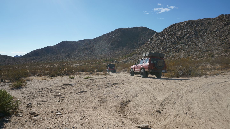 Mojave Road - Waypoint 51: To Marl Springs