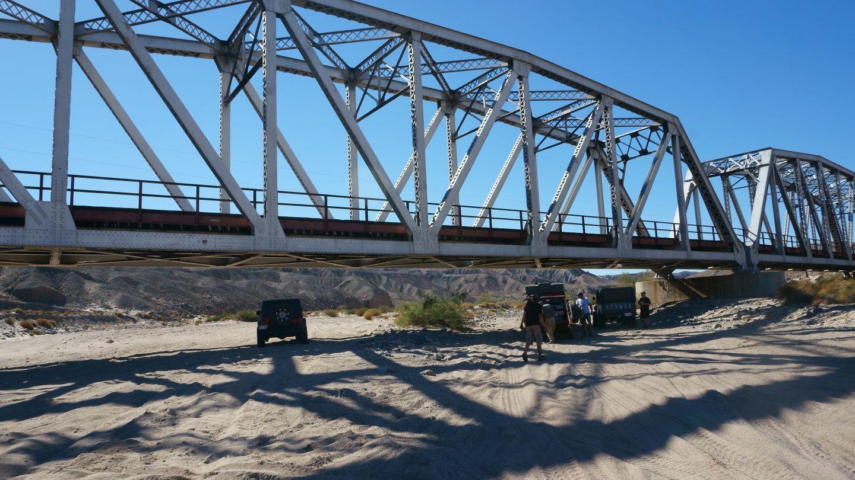 Mojave Road - Waypoint 60: Union Pacific RR Bridge