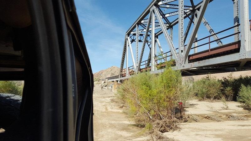 Mojave Road - Waypoint 63: Middle Railroad Bridge