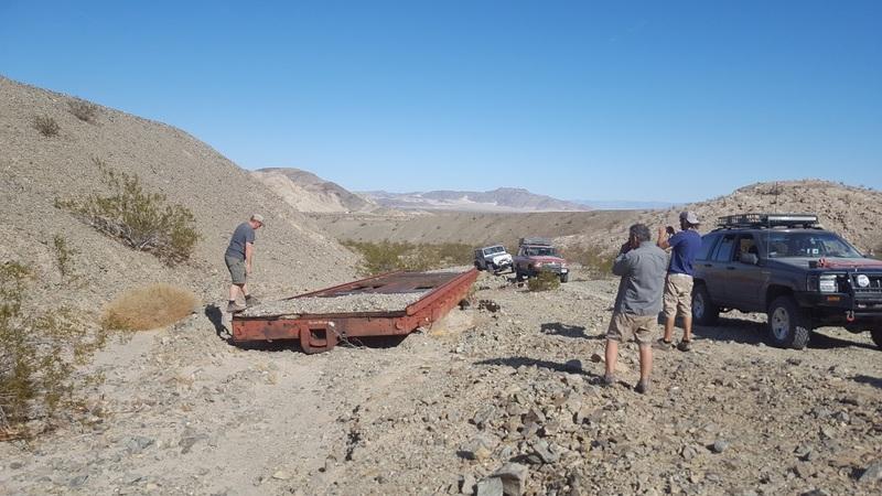 Mojave Road - Waypoint 61: Train Car
