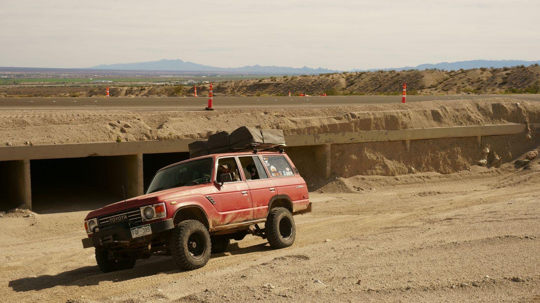Mojave Road - Waypoint 1: Needles Highway Trailhead