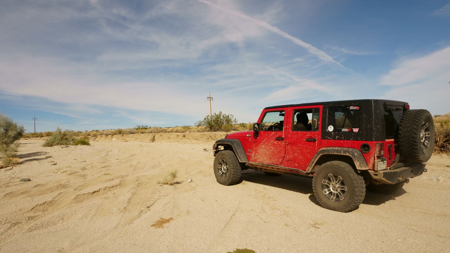 Mojave Road - Waypoint 2: Out of Wash