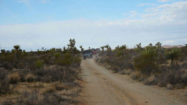 Mojave Road - Waypoint 24: Straight