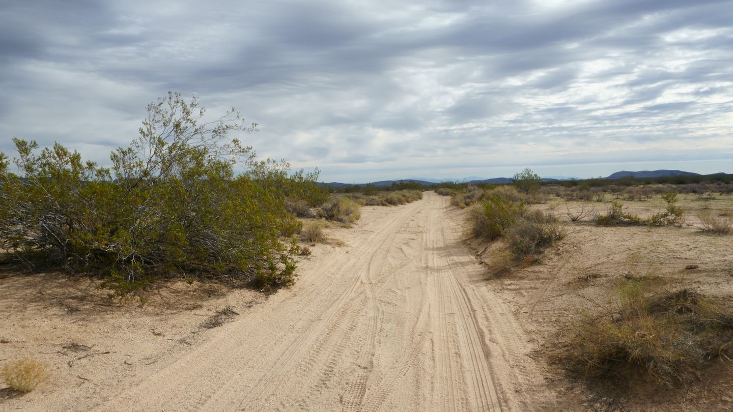 Mojave Road - Waypoint 29: Left/West