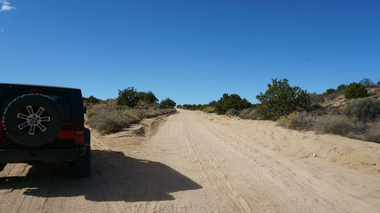 Mojave Road - Waypoint 43: Go Left/Southwest