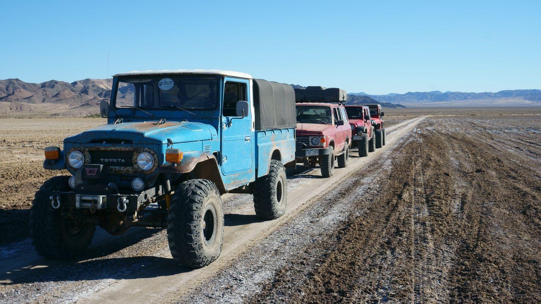 Mojave Road - Waypoint 56: Dry Soda Lake Bed