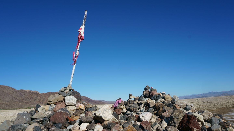 Mojave Road - Waypoint 57: Travelers Monument