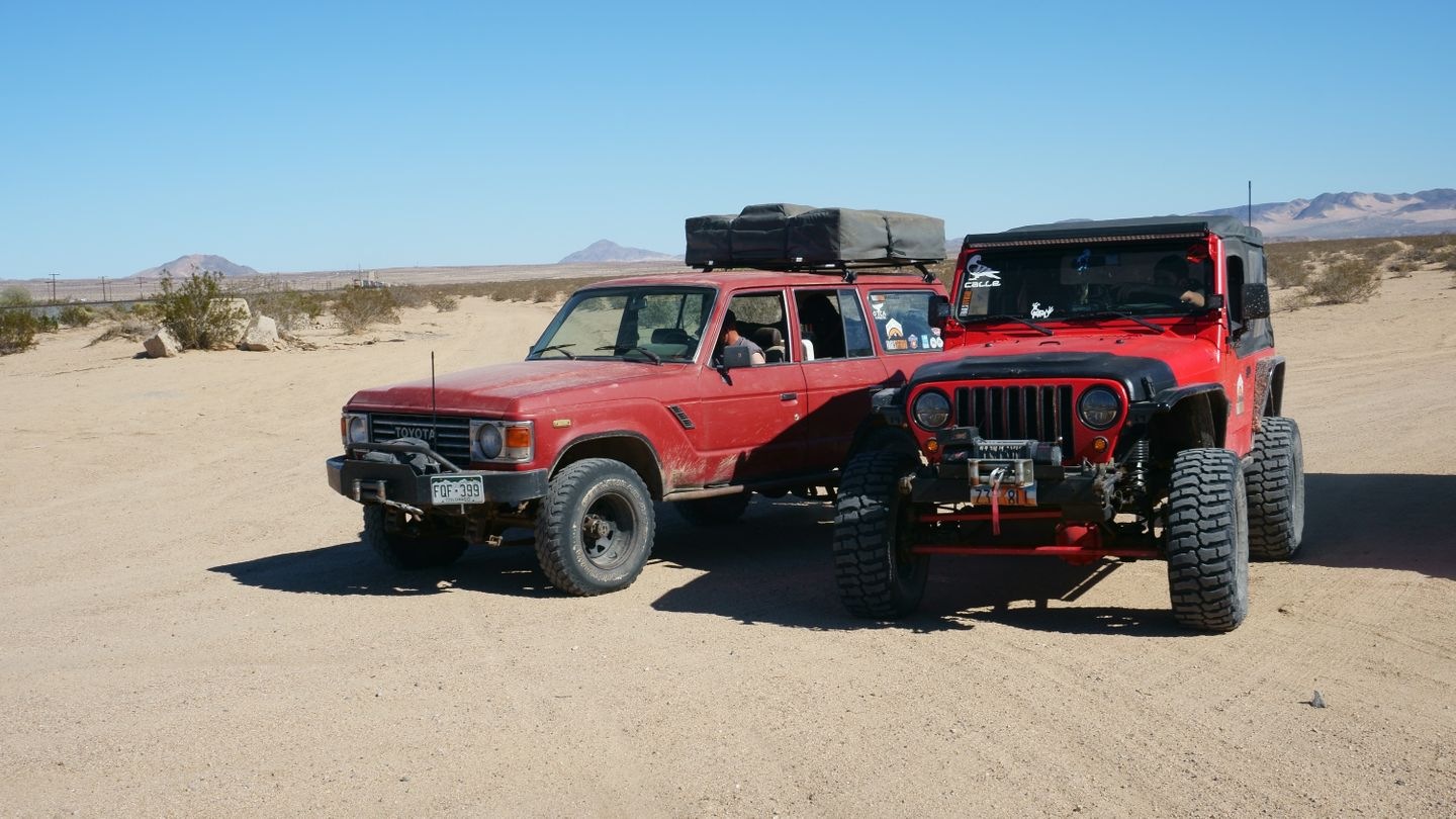 Mojave Road - Waypoint 69: End
