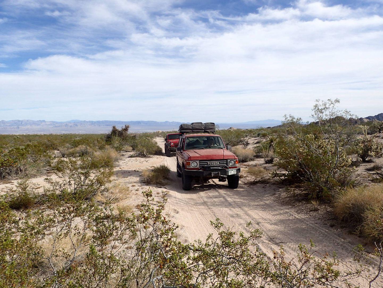 Mojave Road - Waypoint 9: Fork Left