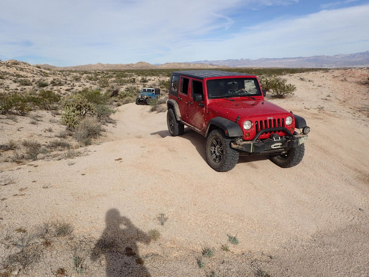 Mojave Road - Waypoint 10: Obstacle