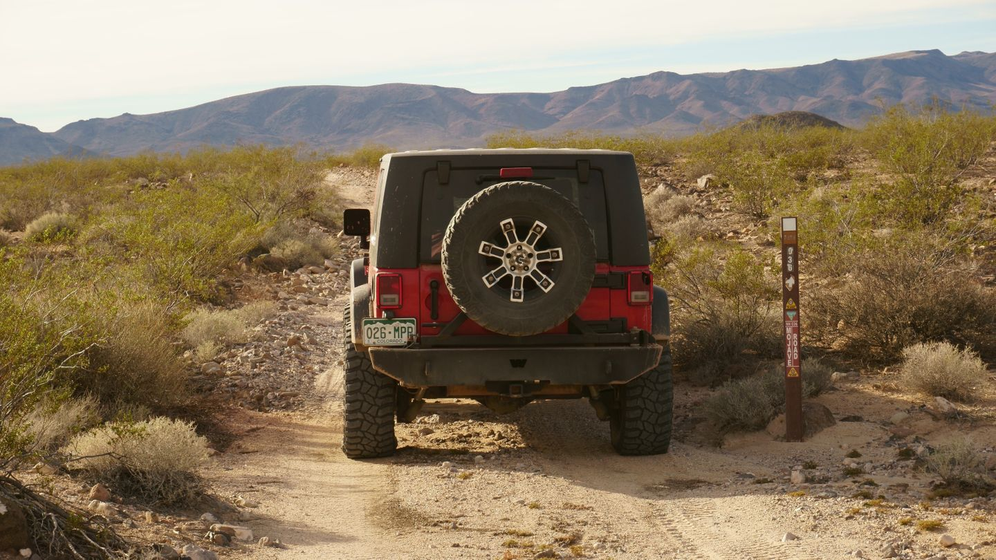Mojave Road - Waypoint 16: 108 Intersection