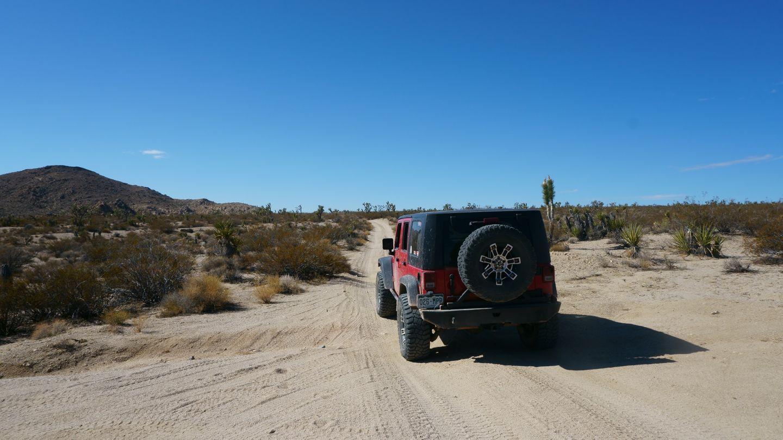 Mojave Road - Waypoint 48: Straight