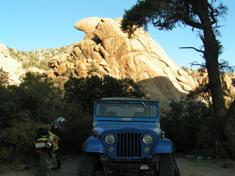 Mojave Road - Waypoint 37: Camp Phallus