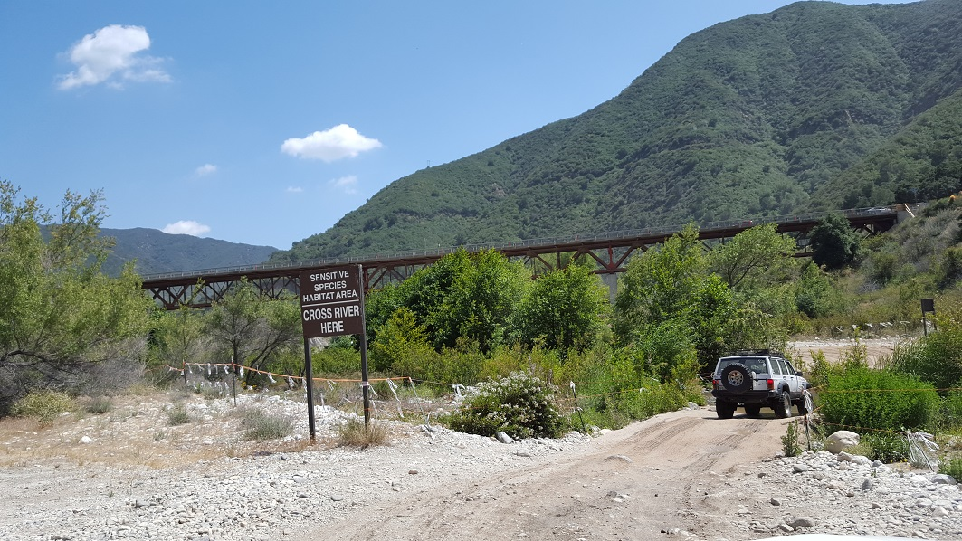Azusa Canyon SVRA - Waypoint 6: 2nd River Crossing