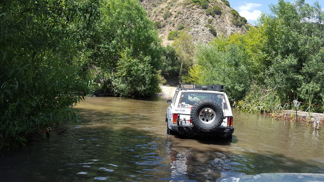 Azusa Canyon SVRA - Waypoint 5: River Crossing