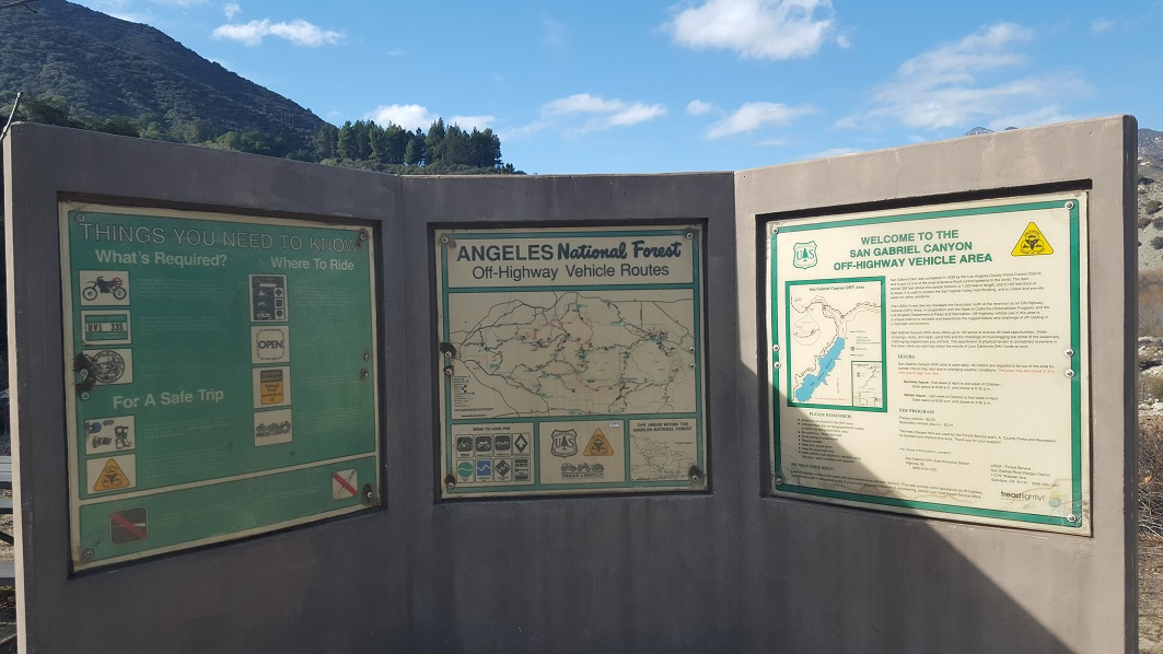 Azusa Canyon SVRA - Waypoint 2: Bathrooms