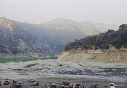 Azusa Canyon SVRA - Waypoint 9: Hill Climb Area - West Side of Mud Pit