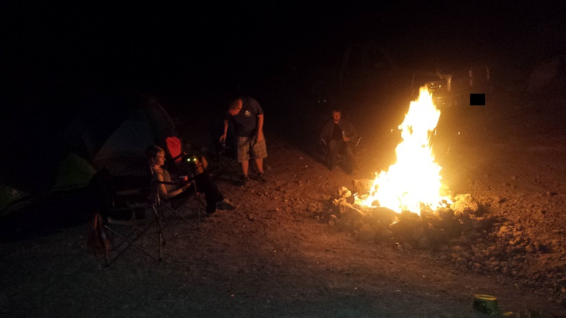 Camping: Phillips Canyon West