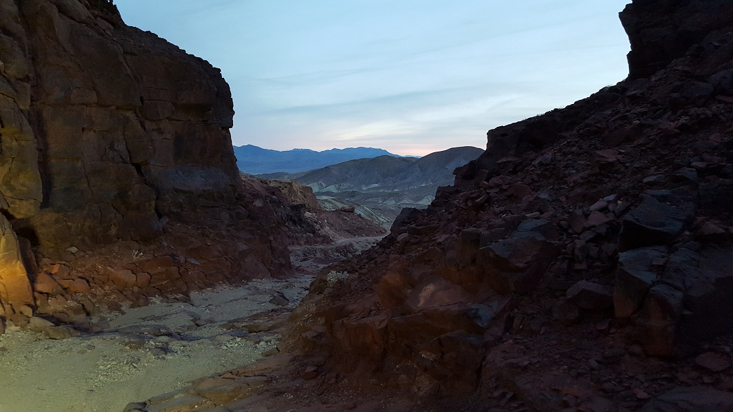 Phillips Canyon West - Waypoint 4: Red Rock Canyon