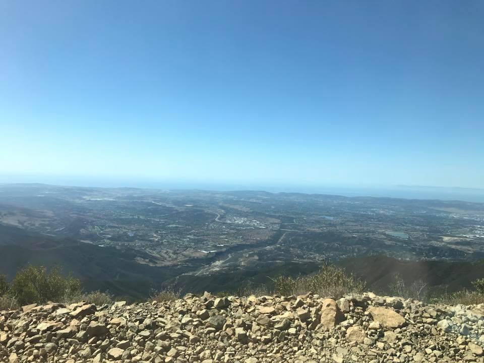 Trail Review: 3S04 - Main Divide South - Santiago Peak (aka Saddleback Mountain)