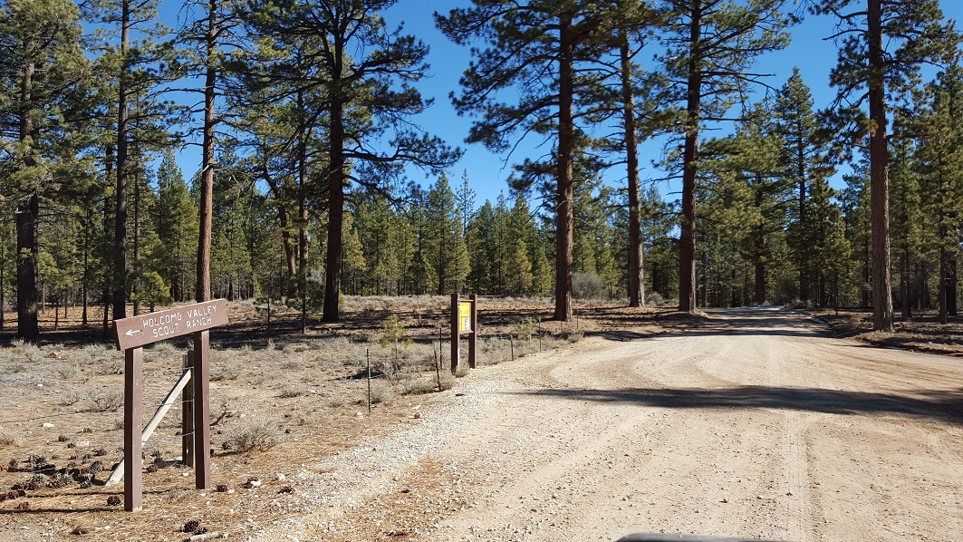 3N16 - Holcomb Valley - Waypoint 17: Continue Straigt at 3N09  Intersection (Van Dusen) and Holcomb Valley Campground