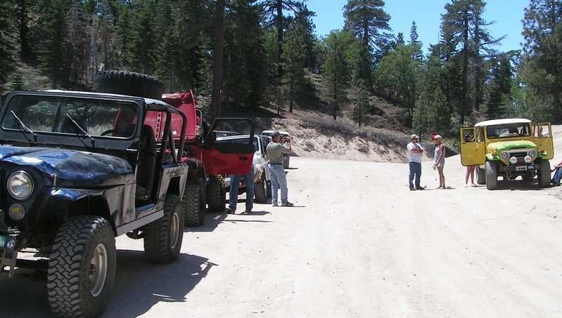 3N16 - Holcomb Valley - Waypoint 1: Trailhead (South End)