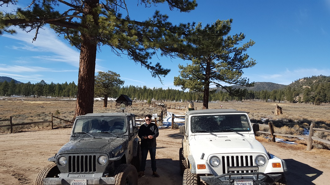 3N16 - Holcomb Valley - Waypoint 18: Miners Cabin