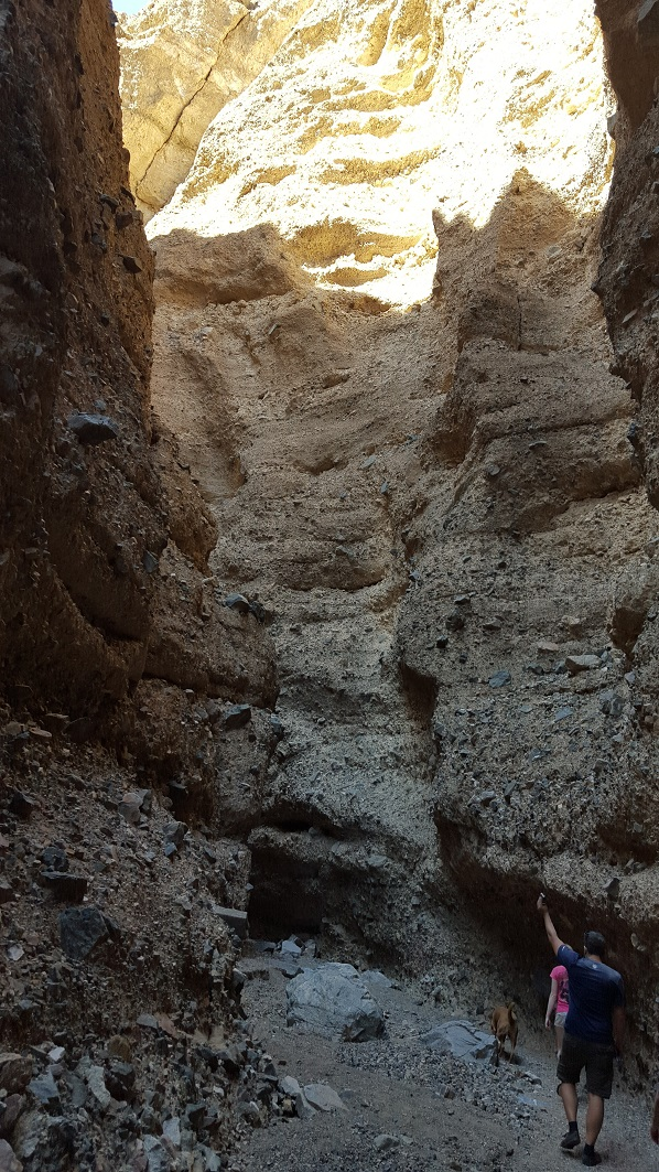 Afton Canyon - Waypoint 8: Spooky Cave