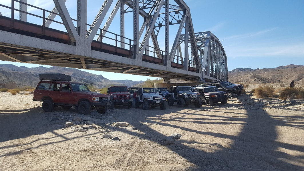 Afton Canyon - Waypoint 12: Train Bridge