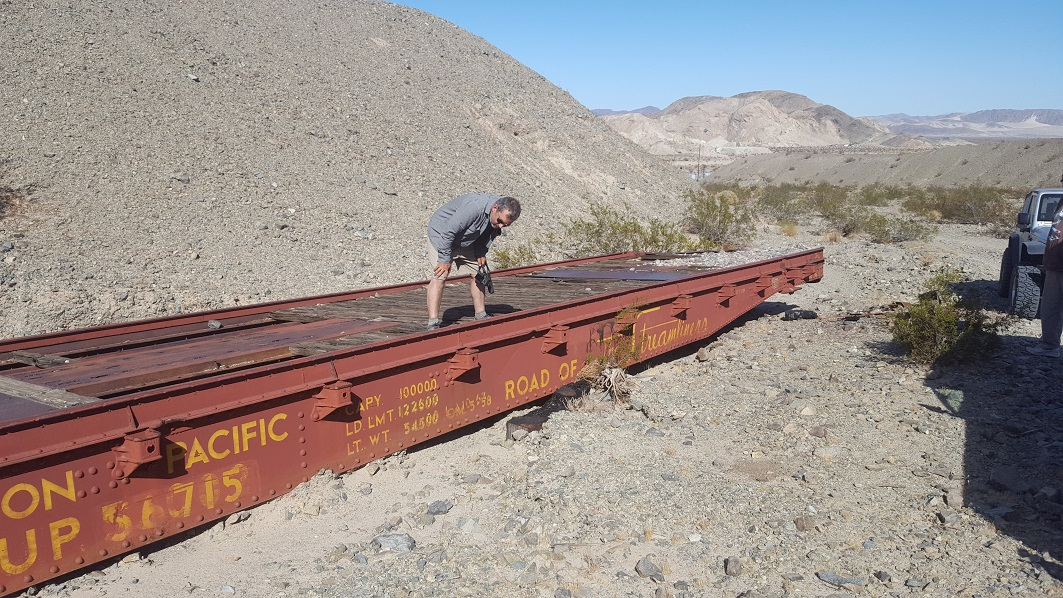 Afton Canyon - Waypoint 10: Train Car