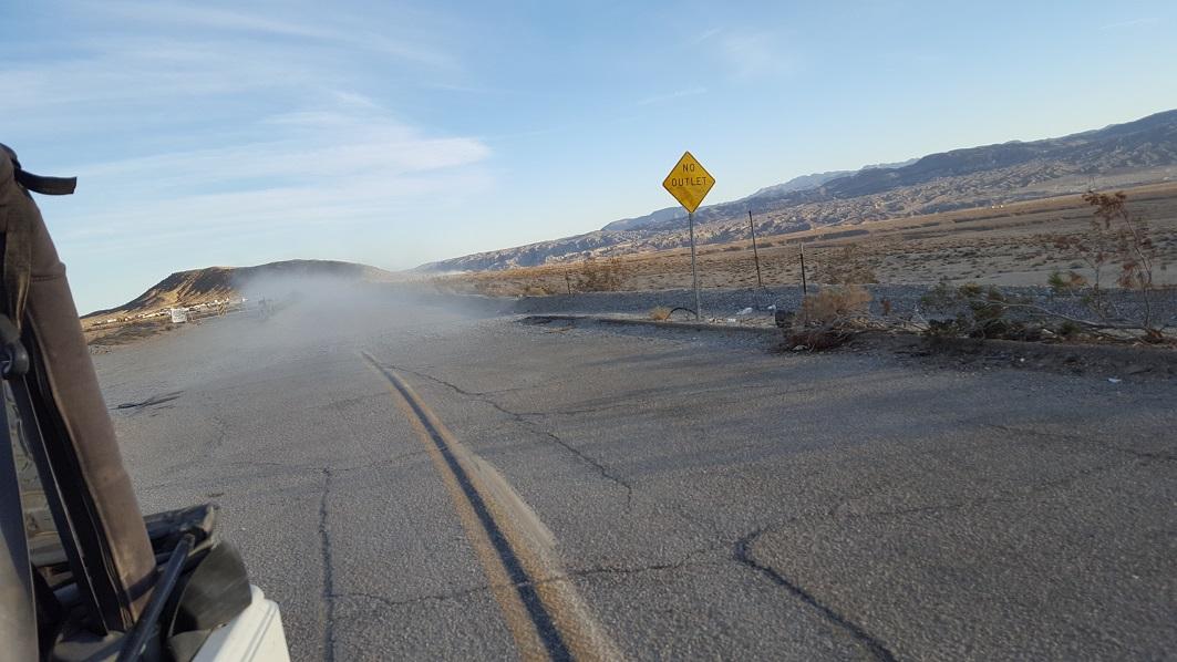 Afton Canyon - Waypoint 1: Exit Freeway