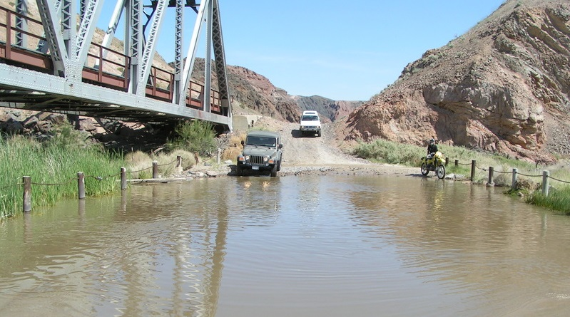 Afton Canyon - Waypoint 5: Second Water Crossing (Currently Dry)
