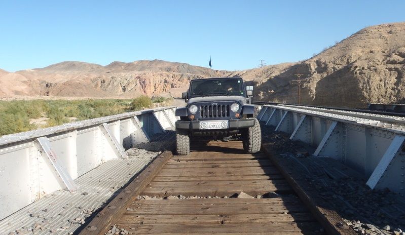 Afton Canyon - Waypoint 4: Old Train Bridge