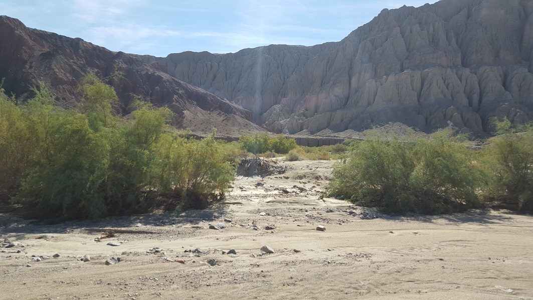 Afton Canyon - Waypoint 6: Drop in spot into Afton Canyon
