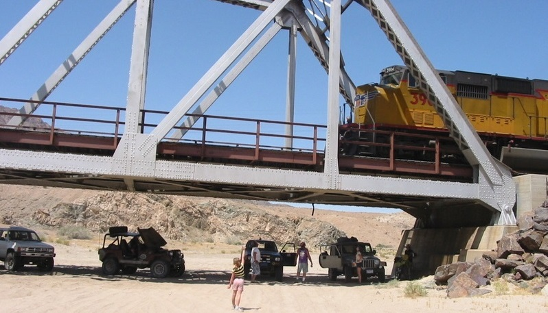 Afton Canyon - Waypoint 11: Train Bridge