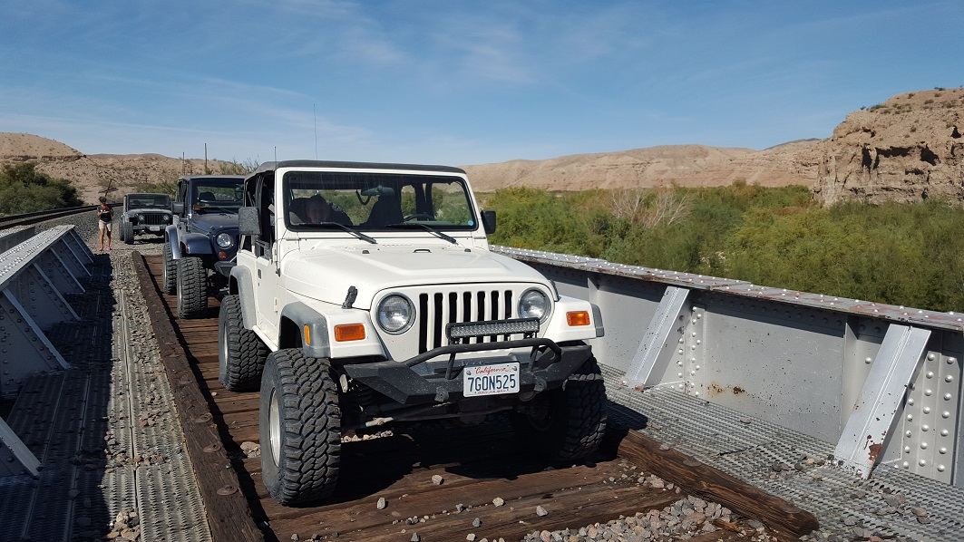 Afton Canyon - Waypoint 4: Old Train Bridge