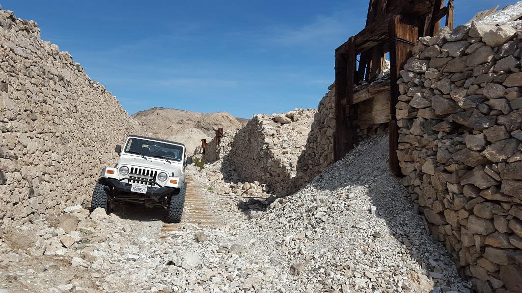 Afton Canyon - Waypoint 13: Old Mine