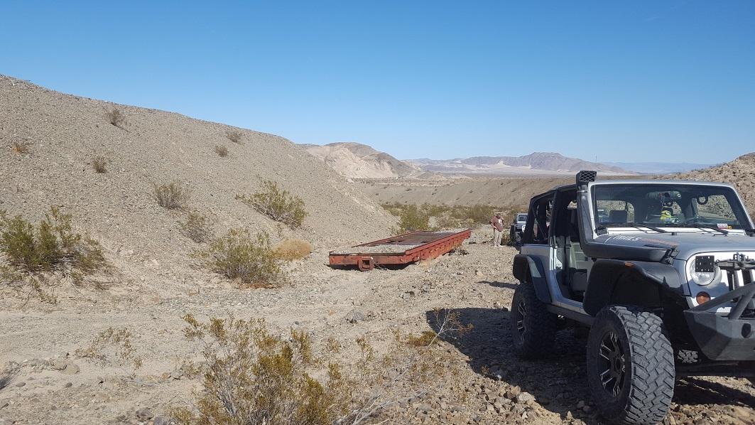 Afton Canyon - Waypoint 9: Train Car