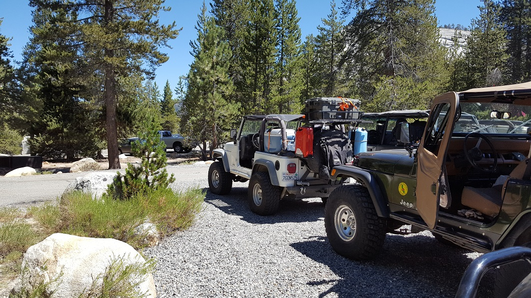 Dusy-Ershim  Trail - Waypoint 2: Staging Area