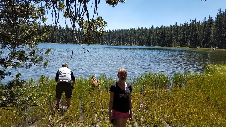 Dusy-Ershim  Trail - Waypoint 14: Ershim Lake