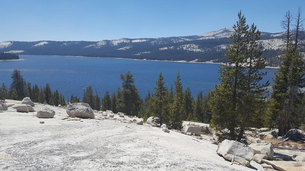 Dusy-Ershim  Trail - Waypoint 5: Chicken Rock