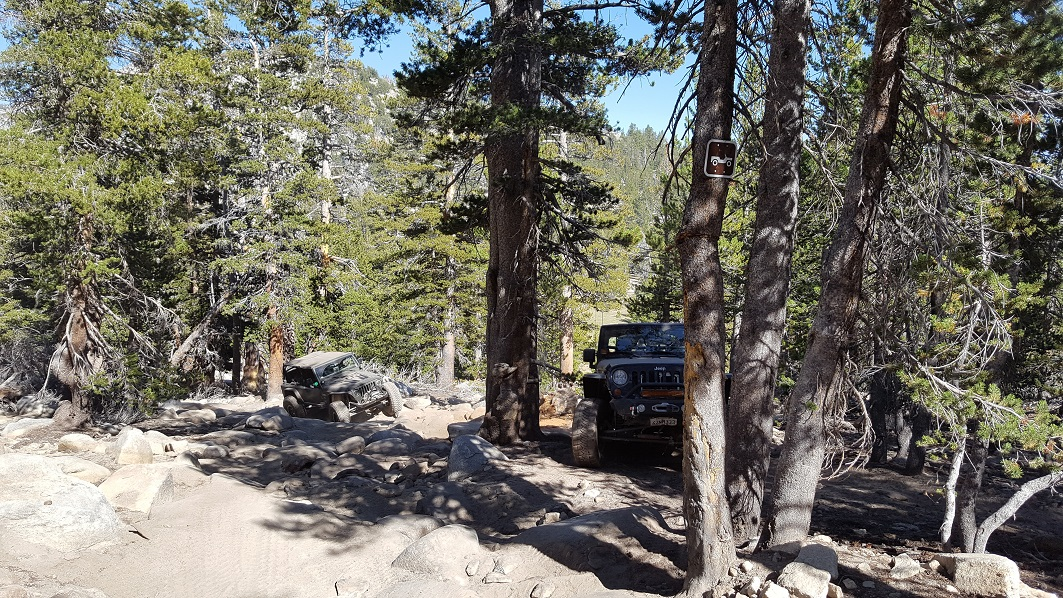 Dusy-Ershim  Trail - Waypoint 22: Givens Hill