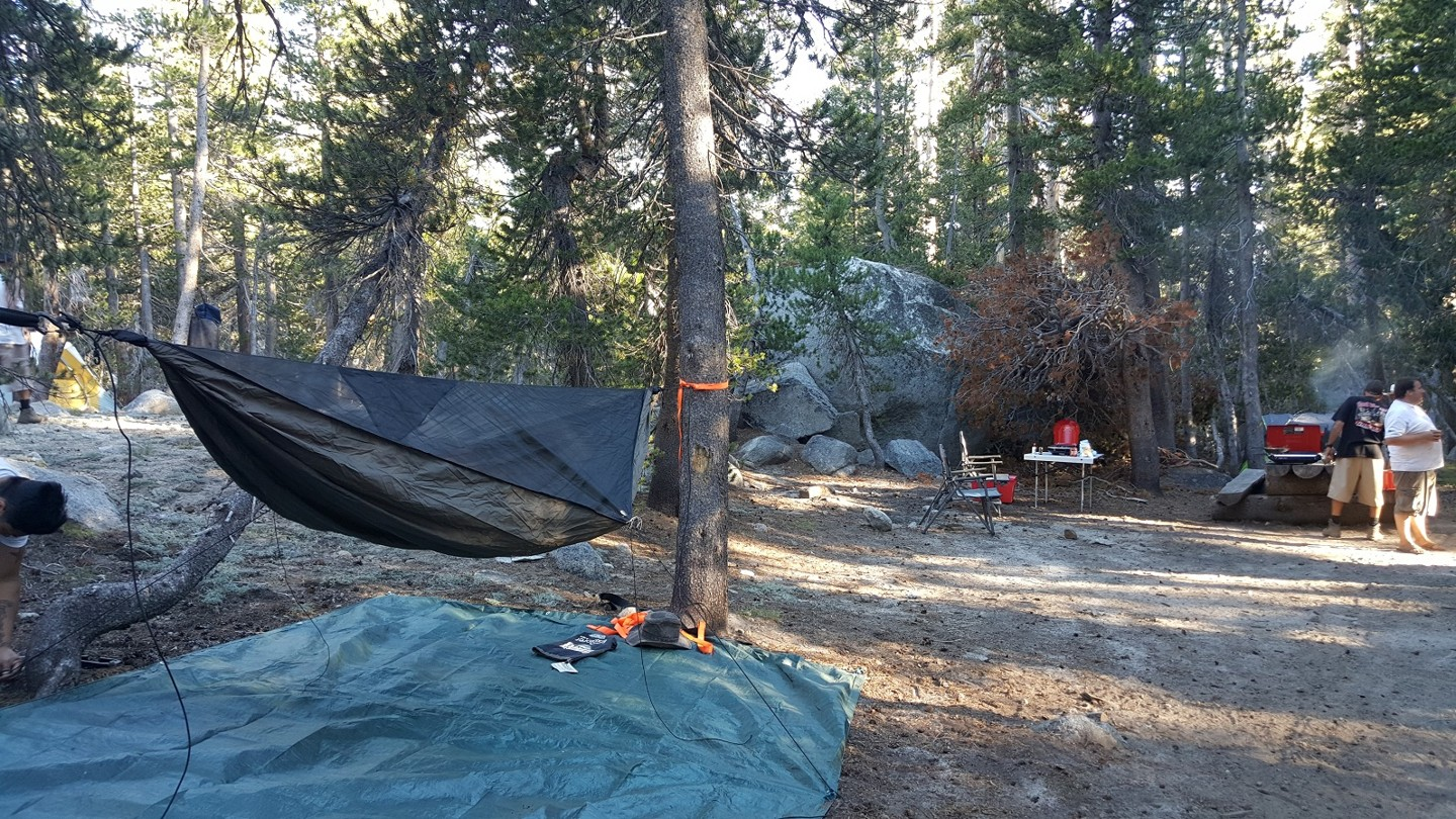 Dusy-Ershim  Trail - Waypoint 20: Lakecamp Campground