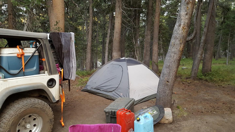 Dusy-Ershim  Trail - Waypoint 10: Thompson Lake Campground 2