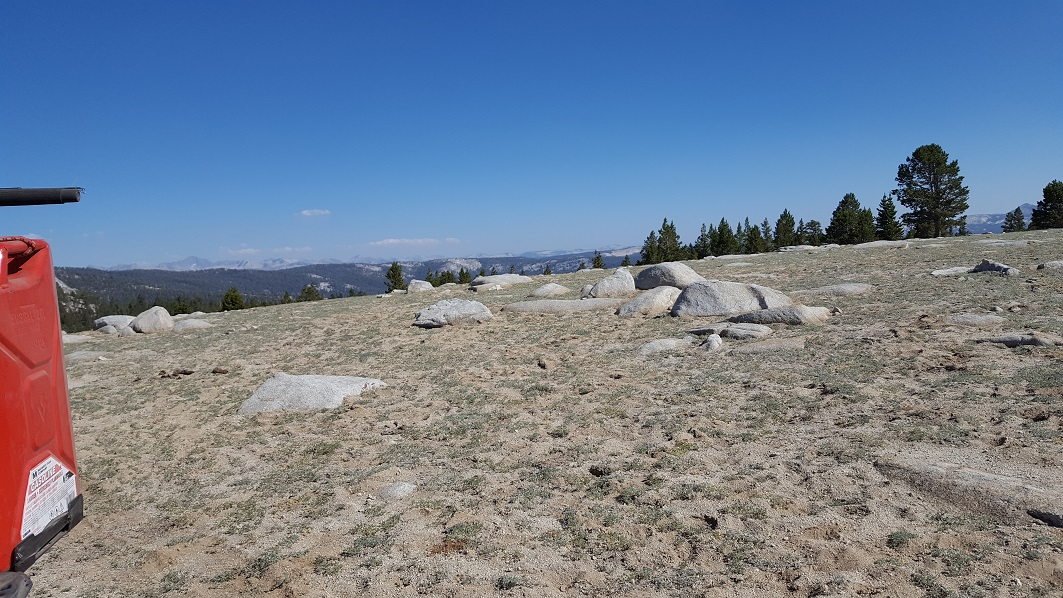 Dusy-Ershim  Trail - Waypoint 21: Look out