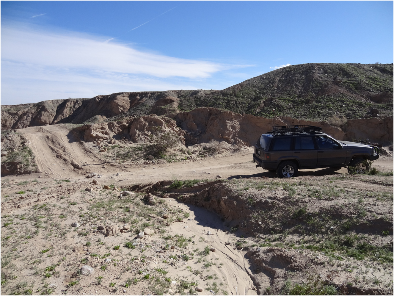 Tectonic Gorge - Ocotillo Wells SVRA - Waypoint 8: Ascending out of the Gorge