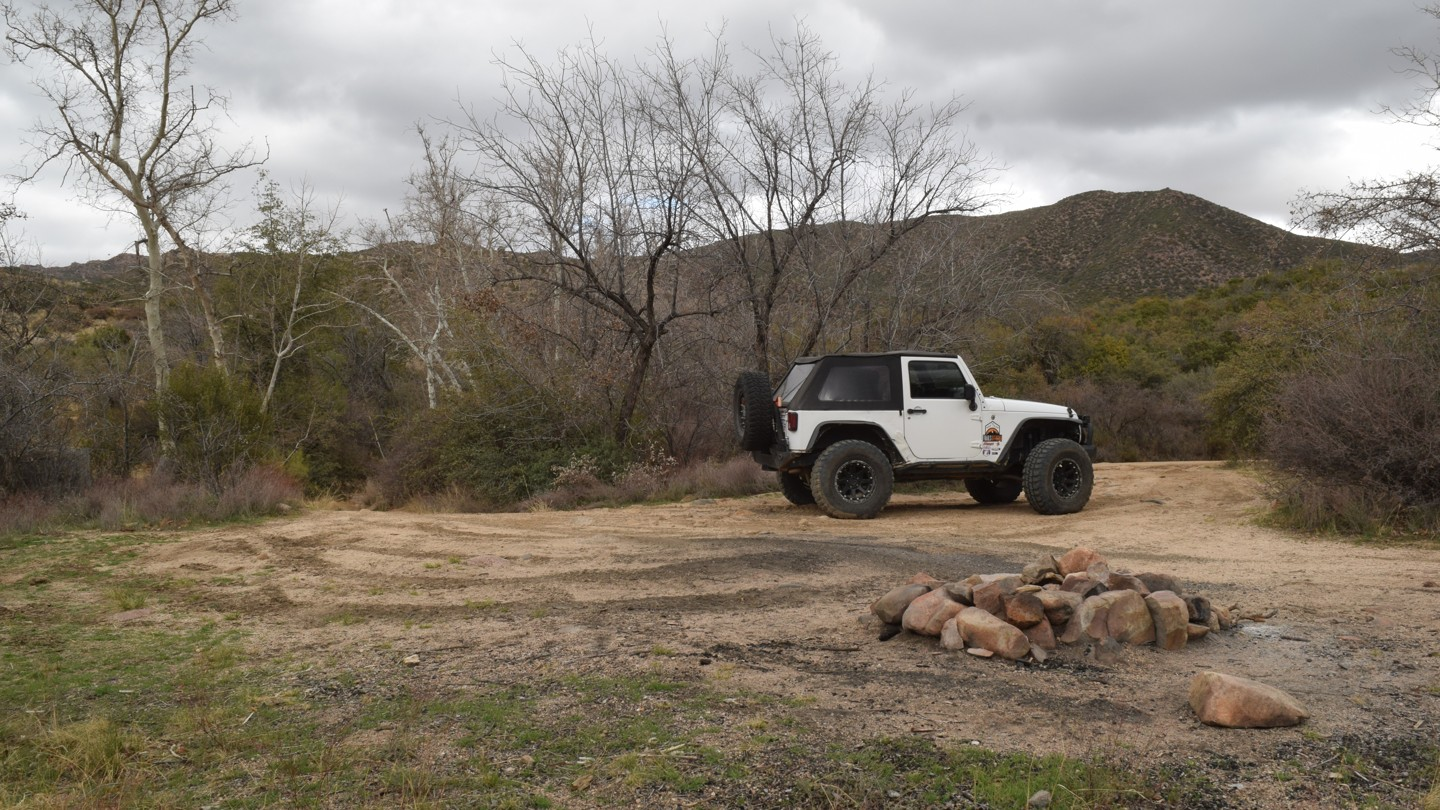 Camping: Four Peaks Trail