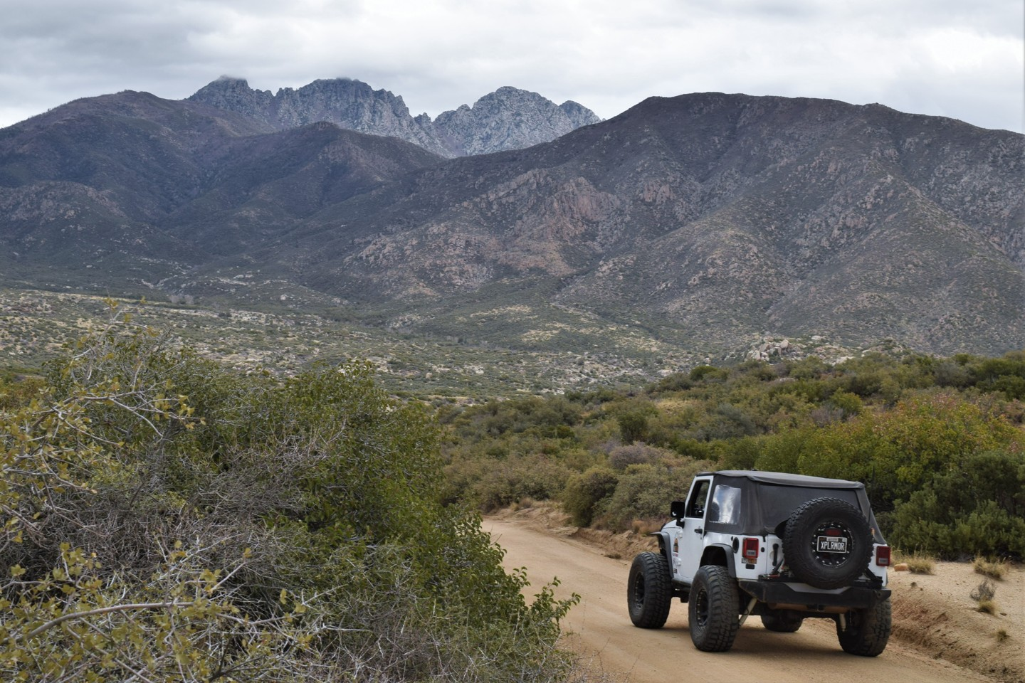 Highlight: Four Peaks Trail