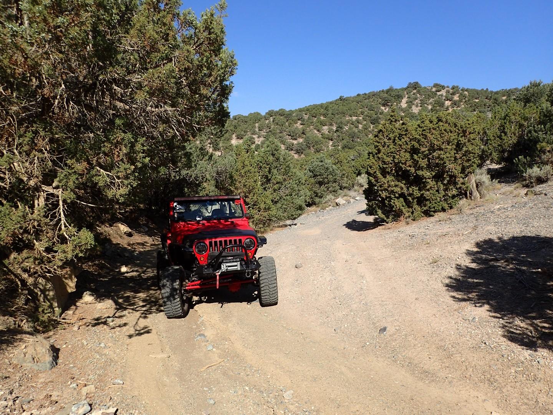 Rattlesnake - Waypoint 9: Sidewinder Exit Trailhead